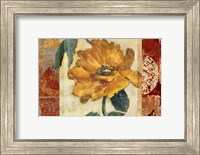 Framed Golden Blossom 1