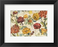 Framed Layered Flowers