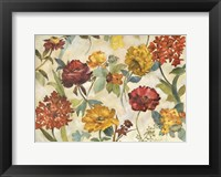 Framed Layered Flowers