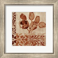 Framed Portret Of Tulips