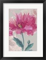 Framed Flower Sketch 2