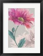 Framed Flower Sketch 3