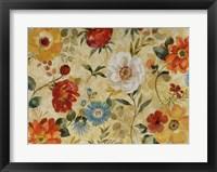 Framed Watercolor Flowers