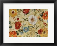Framed Watercolor Flowers