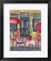 Framed Cafe De Paris