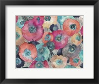 Framed Colorful Poppies