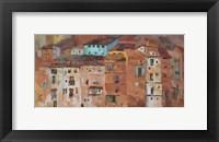 Framed Old Spanish Town