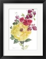 Framed Roses Bogonvilia 2