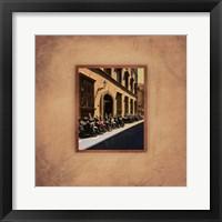 Tuscan Bikes II Framed Print