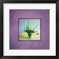 Framed Tuscan Bouquet