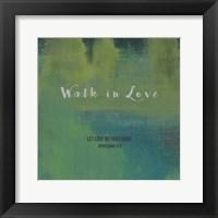 Framed Walk In Love