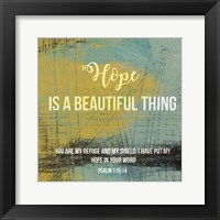 Framed Hope is a Beautiful Thing