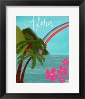 Framed Aloha