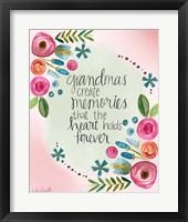 Framed Grandma Memories
