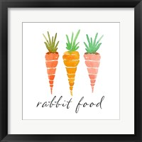 Framed Rabbit Food