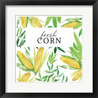 Framed Fresh Corn