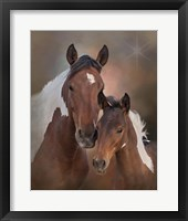 Framed S'more & Chippewa - S Steens Mustangs
