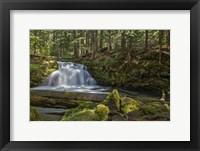 Framed Whitehorse Falls