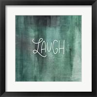 Framed Laugh Green