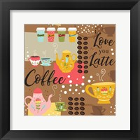 Framed I Love You a Latte IV