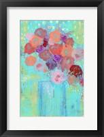 Framed Blue Vase II