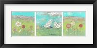 Framed Polka Dot Bird Set