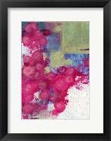 Framed Hot Pink Roses II