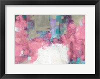 Framed Light Pink Roses