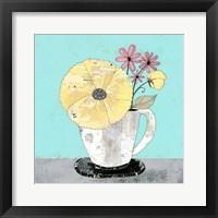 Framed Tea Cup II