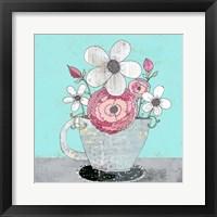Framed Tea Cup IV
