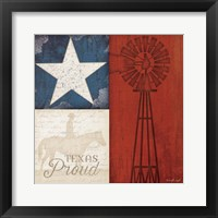 Framed Texas Proud