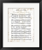 Framed How Great Thou Art