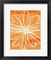 Framed Flower Outline II