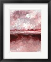 Framed Pink Skies III