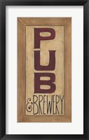 Framed Pub and Brewery