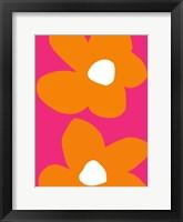 Framed Flower Power V
