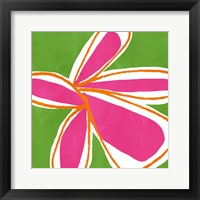 Framed Jumbo Flower Power