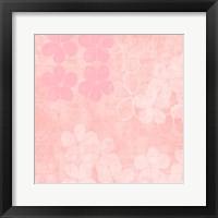 Framed Millennial Pink III
