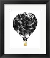 Framed Brushstroke Balloon
