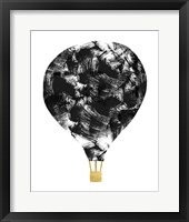 Framed Brushstroke Balloon