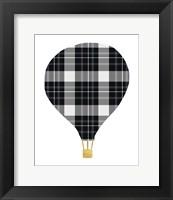 Framed Plaid Balloon