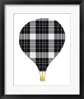Framed Plaid Balloon