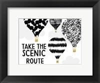 Framed Scenic Route