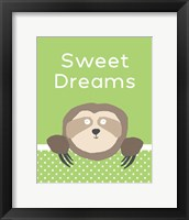 Framed Sweet Dreams - Green