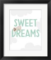 Framed Sweet Dreams Sloth