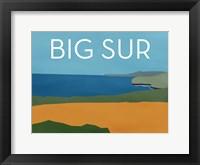 Framed Big Sur Landscape