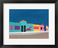 Framed Capitola Beach