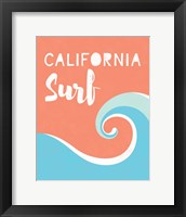 Framed California Surf