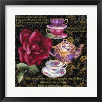 Framed Tea Time 1