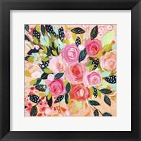 Framed Pink Blush